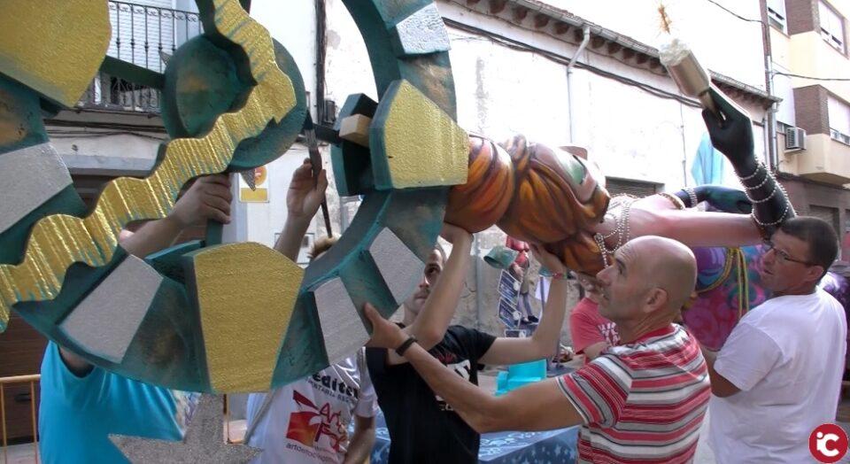Festivitat de Sant Jaume: Plantà Falla