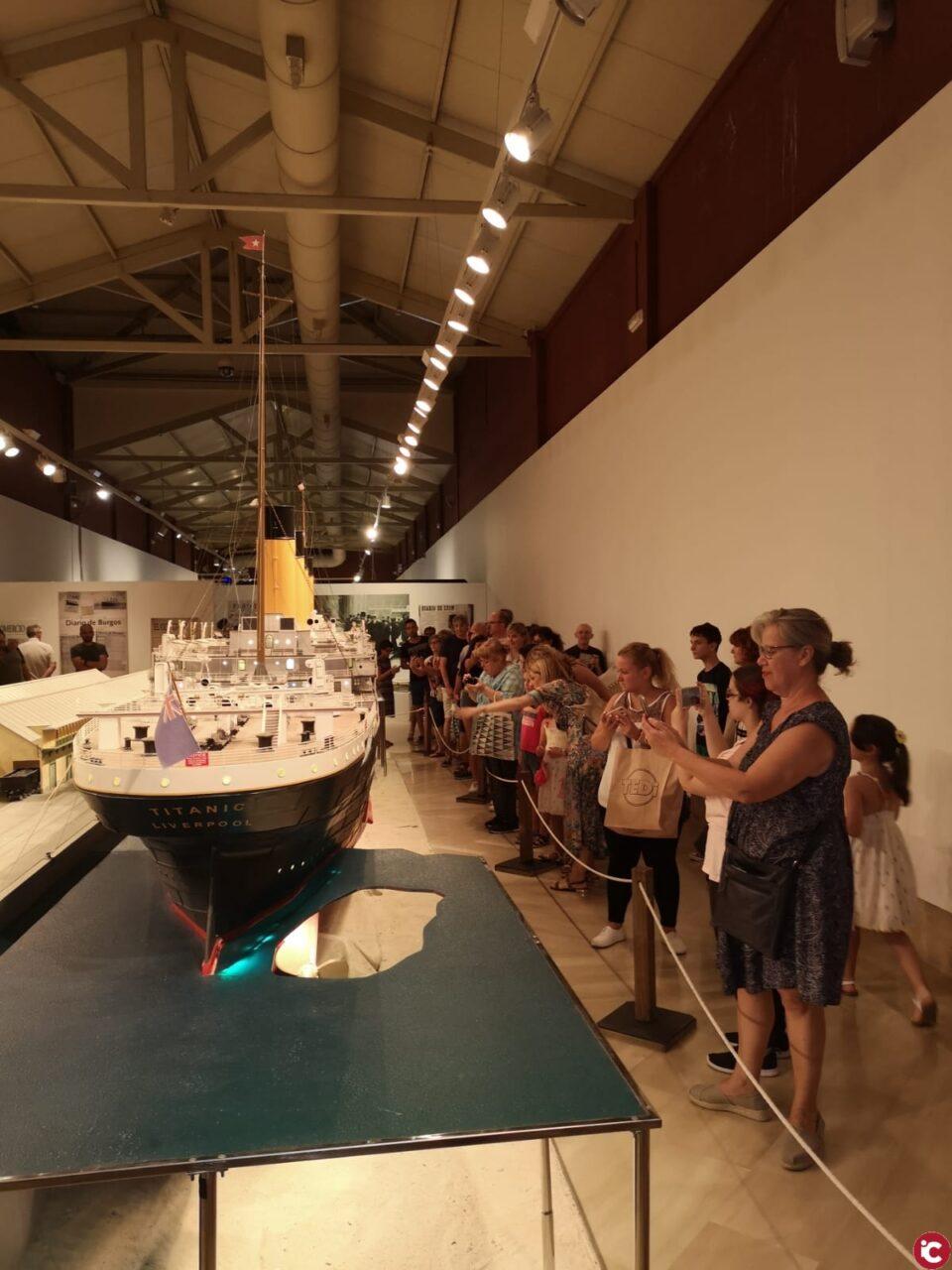 """13.000 personas ha visitado la exposición """"Titanic. The Reconstruction"""" desde su inauguración"""