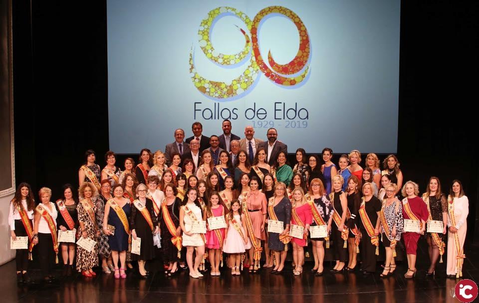 Gala 90 aniversario Fallas de Elda