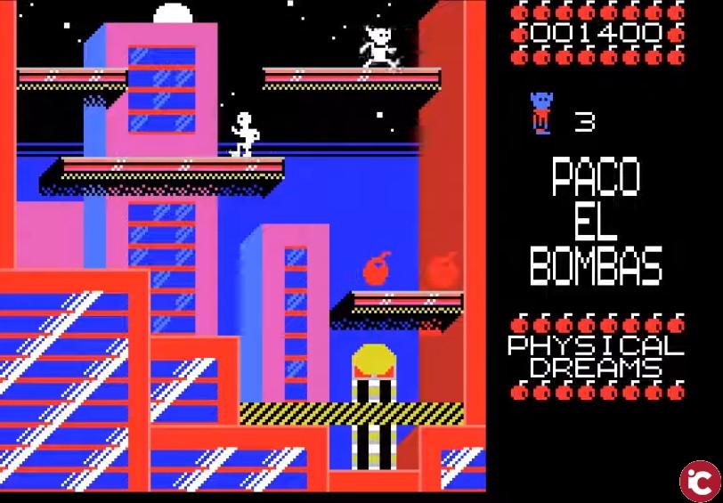 Paco el Bombas. Tributo a Bomb Jack para MSX1