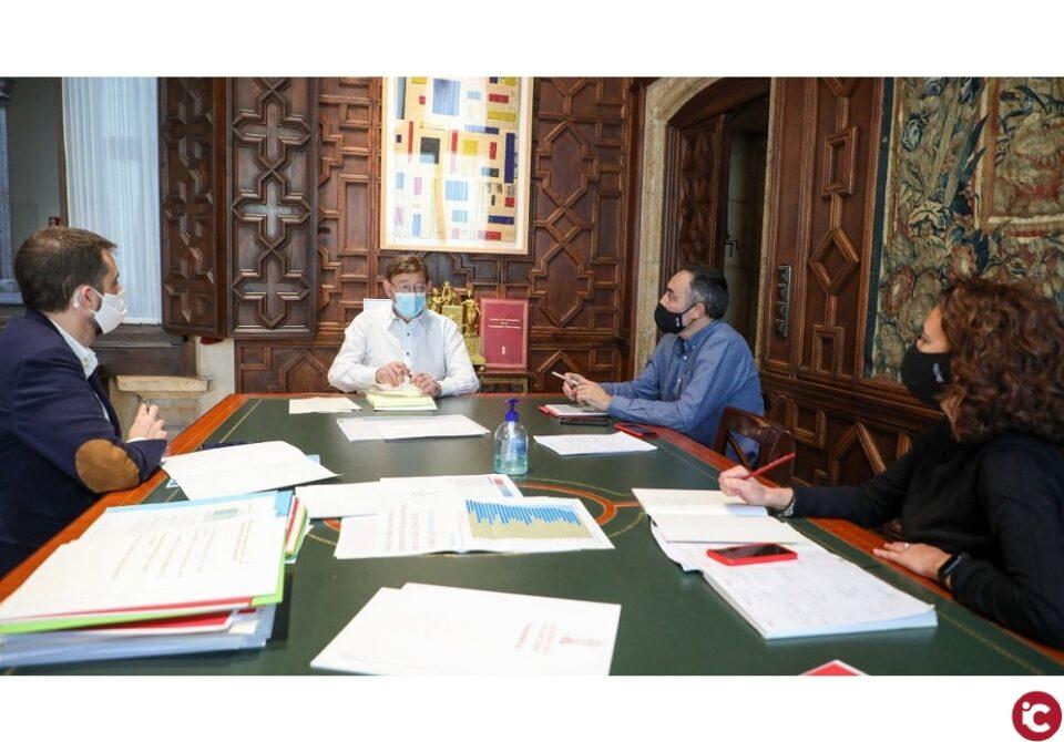 Ximo Puig veu como a prioritària la participació de la Comunitat Valenciana en consorcis europeus