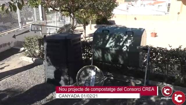 El Consorci de Residus CREA ha presentat aquest matí a la Canyada en el CEIP Verge del Carmen el seu projecte de Compostatge Comunitari