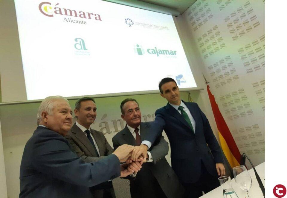 La Cámara de Comercio y la Diputación organizan una gala para homenajear a las empresas centenarias de la provincia de Alicante
