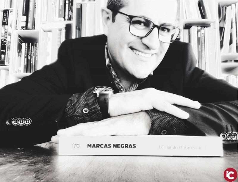 Fernando Olivares presenta el seu llibre Marcas Negras a la Seu Ciutat d'Alacant