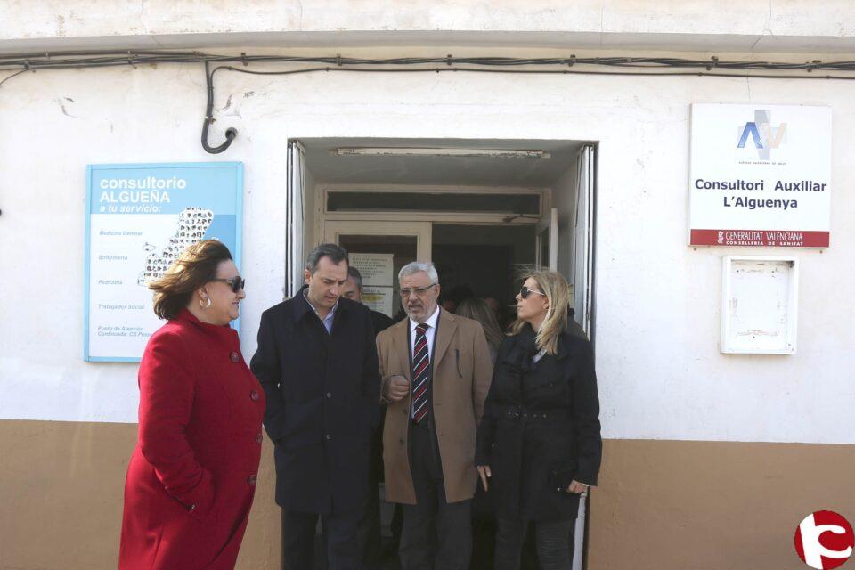 Sánchez visita el municipio de Algueña donde el Gobierno Provincial impulsa distintas obras con una inversión de 540.000 euros