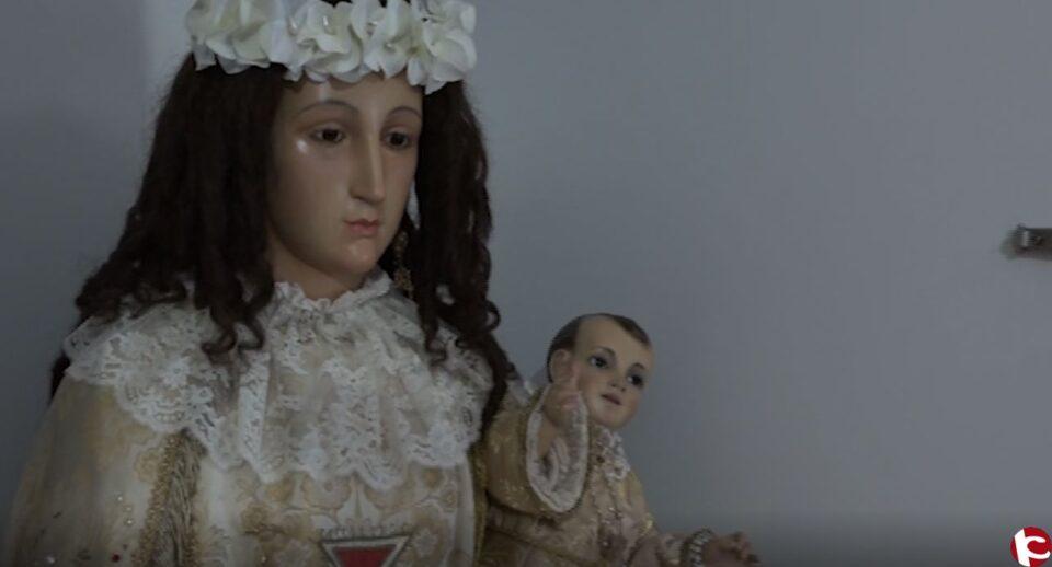 ¿Cómo se prepara a la Virgen del Remedio para sus días grandes? Nos desplazamos hasta Petrer en este momento tan importante