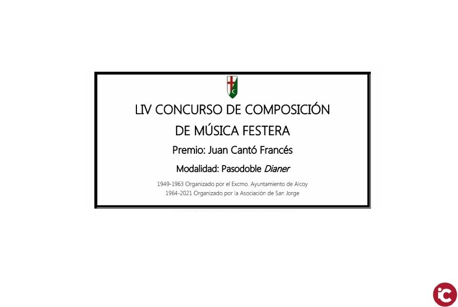 LIV Concurso de Composición de Música Festera