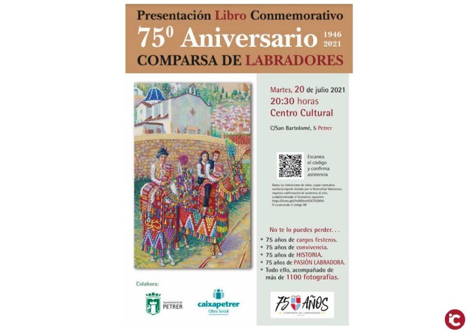 Presentación del libro del 75 Aniversario de la comparsa Labradores