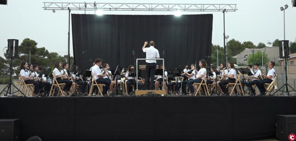 Concert de l'escola de la Societat Unió Musical Canyada