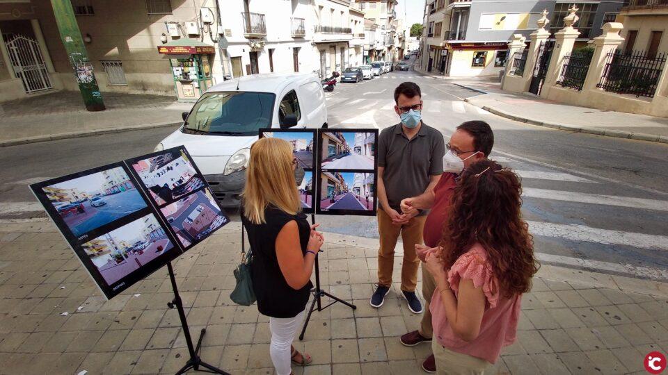Petrer transformará tres calles del centro para reforzar su papel como espacio para la convivencia y como eje comercial y de servicios
